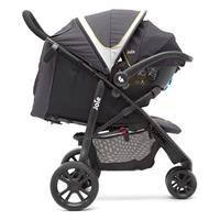 Joie Litetrax 3 2017 Sportwagen Buggy Urban Seitenansicht Travel System mit Gemm Babyschale