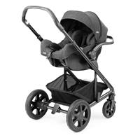 Joie iGemm 2017 iSize Babyschale Pavement Als Travel System mit Chrome DLX