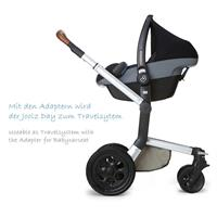 Joolz Day Adapter fuer Babyschalen Maxi Cosi CabrioFix und Pebble Cybex Aton Kiddy Evolution Pro 707