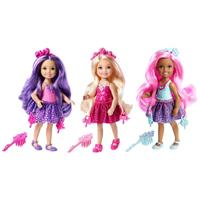 Mattel Barbie 4 Kingdoms Magic Hair Chelseas