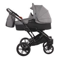 Knorr baby Voletto Carbon Kinderwagen Set Kinderwagen inclusive Wickeltasche