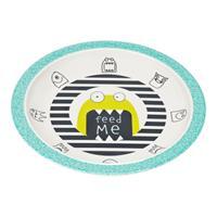 Lässig Kinderteller Dish Plate Melamine/Silicone Bouncing Bob