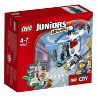 Lego Juniors Verfolgung mit dem Polizeihelikopter 10720