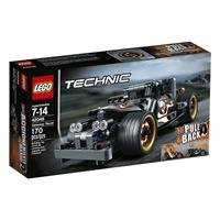 Lego Technic Fluchtfahrzeug 42046 Detailansicht 01