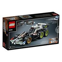 Lego Technic Fluchtfahrzeug 42046 Detaillierte Ansicht 02