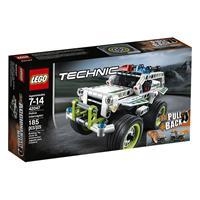 Lego Technic Polizei Interceptor 42047 Detailansicht 01