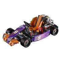 Lego Technic Renn Kart 42048 Detaillierte Ansicht 02