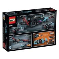 Lego Technic Drag Racer 42050 Detaillierte Ansicht 02