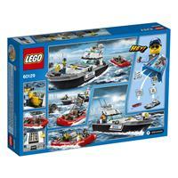 Lego City Polizei Patrouillen Boot 60129 Detailansicht 01