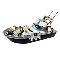 Lego City Polizei Patrouillen Boot 60129 Ansichtsdetail 03