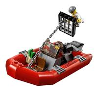 Lego City Polizei Patrouillen Boot 60129 Ausschnitt 04