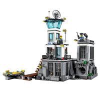 Lego City Polizeiquartier auf der Gefängnisinsel Ansichtsdetail 03
