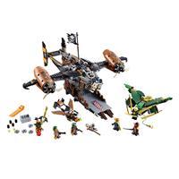 Lego Ninjago Luftschiff des Unglücks 70605 Detaillierte Ansicht 02