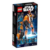 Lego Star Wars Actionfigur Poe Dameron 75115 Detailansicht 01