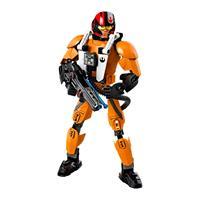 Lego Star Wars Actionfigur Poe Dameron 75115 Detaillierte Ansicht 02