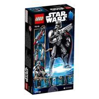 Lego Star Wars Actionfigur Captain Phasma 75118 Detailansicht 01