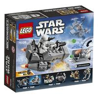 Lego Star Wars Microfighter Villain craft blue Detailansicht 01