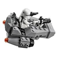 Lego Star Wars Microfighter Villain craft blue Ansichtsdetail 03