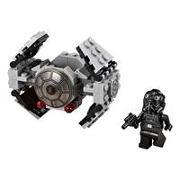 Lego Star Wars TIE Advanced Prototype 75128 Detaillierte Ansicht 02