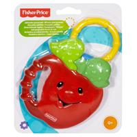 Fisher-Price Cooling Teeth Ring With A Grabbing Toy Apple Cooling Teething Ring