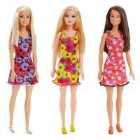 Mattel Barbie Chic im Blumenkleid T7439