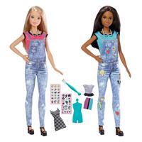 Mattel Barbie DIY Emoji Style Puppen DYN92