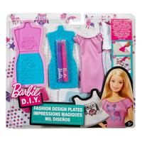 Mattel Barbie Mode Muster Set 1 DYV67