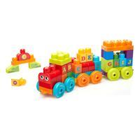 Mattel Mega Bloks ABC Lernzug DXH35