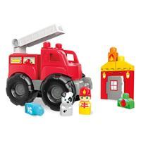 Mattel Mega Bloks Rettungseinsatz-Feuerwehrwagen DXH38