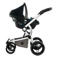 Moon Kombikinderwagen  COOL | stone melange | 63650210 970 TravelSystem mit Babyschale Adapter separ