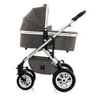 Moon Kombikinderwagen NUOVA | city stone melange | 63630210 970 mit Babywanne