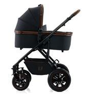 Moon Kombikinderwagen NUOVA | wood | 63630210 996 mit Babywanne