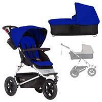 mountain buggy urban jungle Kombikinderwagen mit Carrycot plus ab Geburt Marine