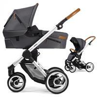 Mutsy Evo Kinderwagen mit Tragewanne Urban Nomad Standard / Dark Grey