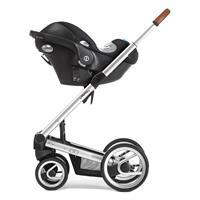 Mutsy Igo Adapter für Babyschalen | Fahrgestell mit Cybex Babyschale