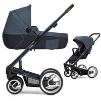 Mutsy Igo Kinderwagen mit Tragewanne Farmer Deep blue / Shadow