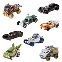 Mattel Hot Wheels Star Wars Character Cars Spielzeug Autos