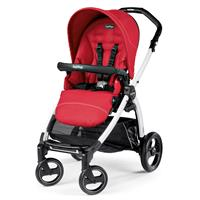 Peg Perego Book S weiß Kinderwagen Mod Red