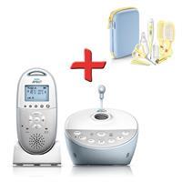 Philips Avent DECT Babyphone SCD580 mit GRATIS Babypflege-Set