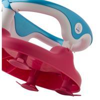 Rotho 20429021901 Baby Badesitz Raspberry Rot Aquamarine Blau Weiss 02 Detailansicht 01