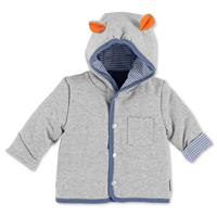 Sterntaler Hooded-Jacket Sweat Hippo Norbert 56