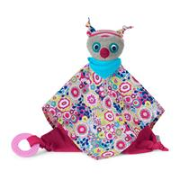 Sterntaler Cuddle Cloth With Removable Teether 2016 Owl Emilie