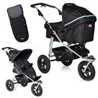 TFK Joggster Adventure Kinderwagen mit MultiX 2in1 Tragewanne & Sportsitz Fußsack Tap Shoe