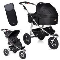 TFK Joggster Adventure Kinderwagen mit QuickFix Tragewanne & Fußsack Tap Shoe