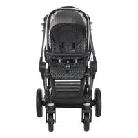 Teutonia BeYou Elite 2017 Kinderwagen Graphite R3 6160 Twinkle Frontansicht