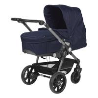Teutonia BeYou Elite 2017 Kinderwagen Graphite R7R 6115 Royal 6175 Little Sailor mit VPTT 6115 Royal