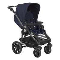 Teutonia BeYou Elite 2017 Kinderwagen Graphite R7R 6115 Royal 6175 Little Sailor