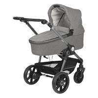 Teutonia BeYou Elite 2017 Kinderwagen Graphite R7R 6145 Pebble 6120 Stone GTT Graphite 6145 Pebble S