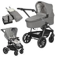 Teutonia BeYou Elite 2017 Kinderwagen Graphite R7R 6145 Pebble 6120 Stone GTT Graphite 6145 Pebble