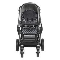 Teutonia BeYou Elite 2017 Kinderwagen Graphite R7R 6165 Starlight Frontansicht